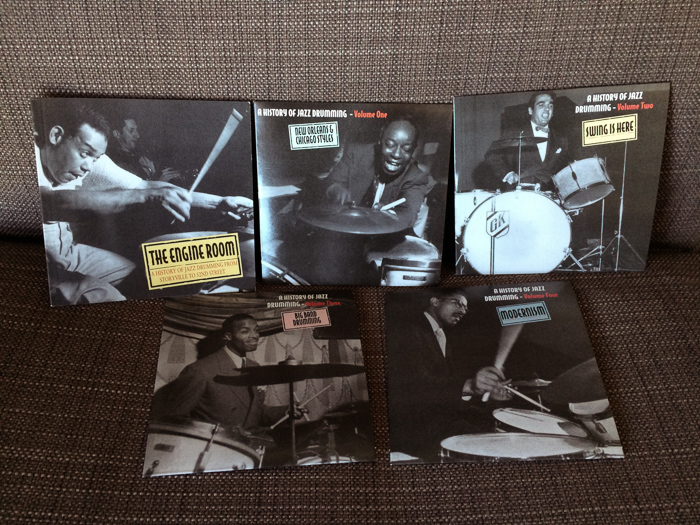The Engine Room: The History of Jazz Drumming