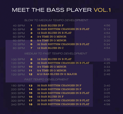 Meet the Bass Player by Allan Cox