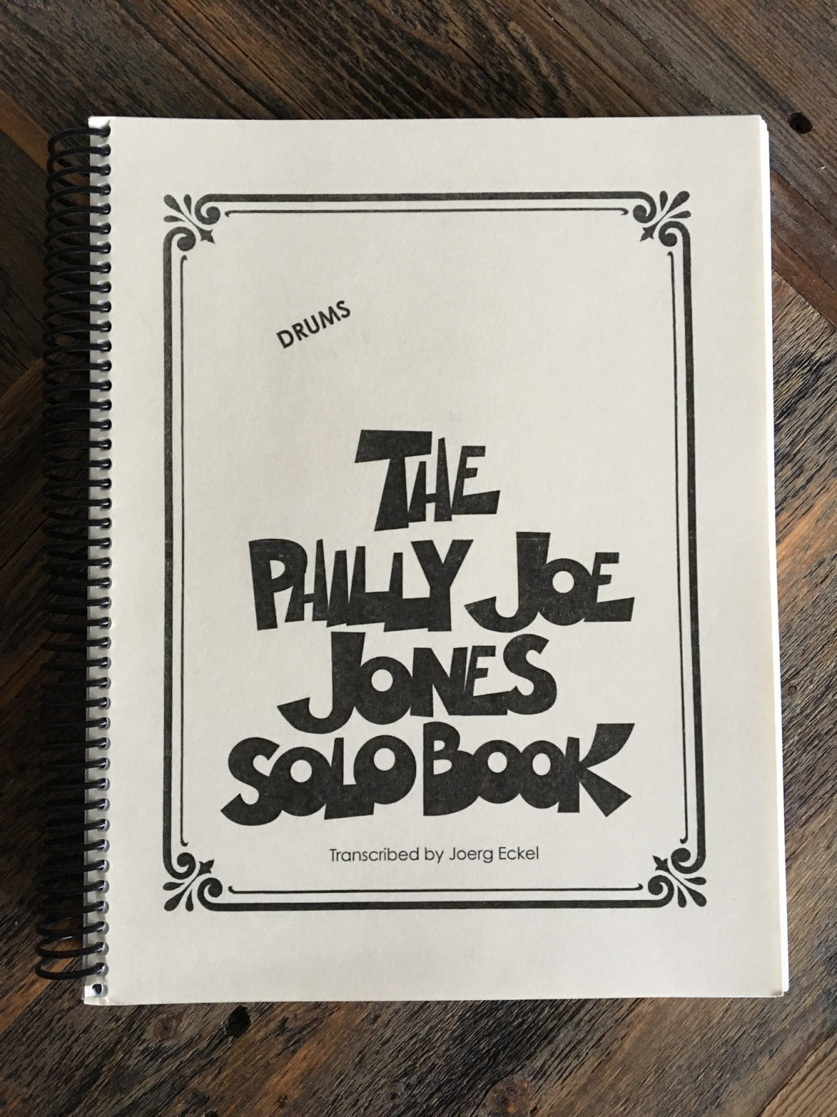 Philly Joe Jones Solo Book