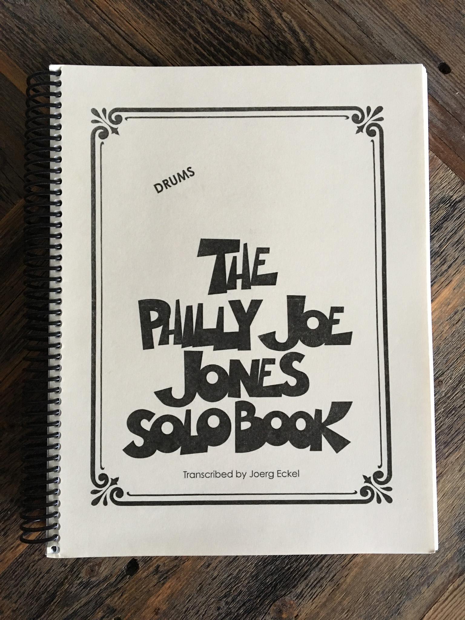 Philly Joe Jones Solo Book - Practicing Drummer