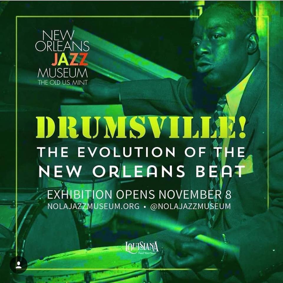 Drumsville at the New Orleans Jazz Museum