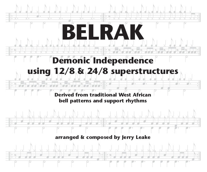 Belrak drum book cover art