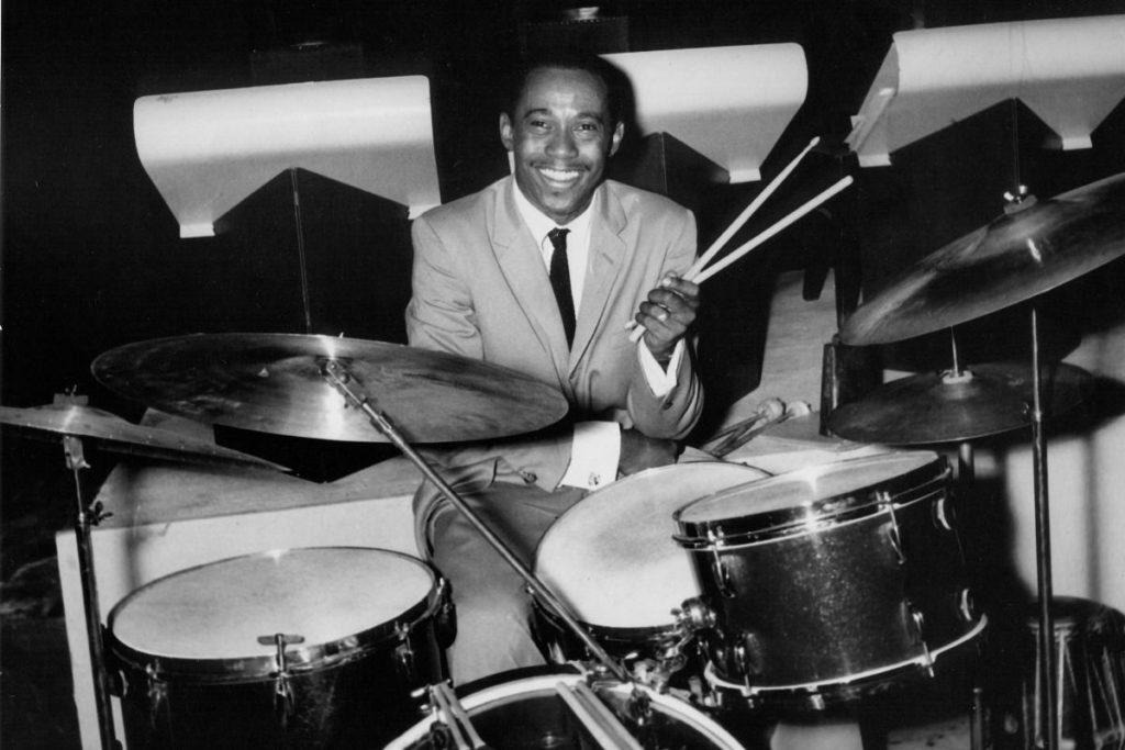 Jazz drummer Charli Persip