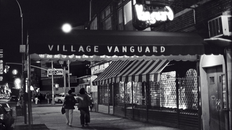 Village Vanguard jazz club street view