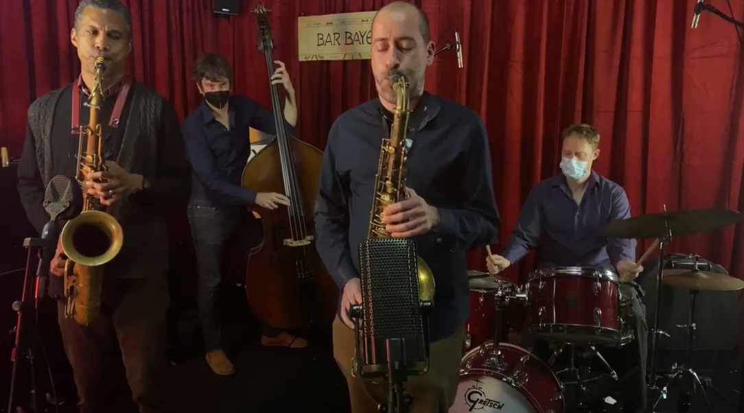 Jerome Sabbagh / Mark Turner / Joe Martin / Bill Stewart - Live at Bar Bayeux